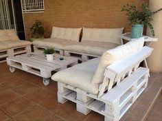 Pallet Outside Furnishings Plans - Recycled Issues
