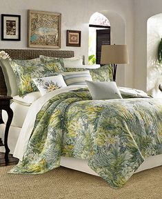 Queen Comforter Sets, Duvet Sets, Duvet Cover Sets, Tommy Bahama, Cuba, Coastal Bedding, Modern Bedding, Bedding Decor, Crib Bedding