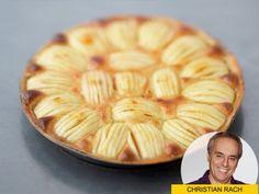 Christian Rachs liebstes Apfelkuchen-Rezept und die ultimativen Tipps, damit der Rührteig luftig und feinporig wird.
