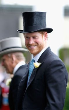 Prince Harry attends day 1 of Royal Ascot at Ascot Racecourse on June 2016 in Ascot, England. Prince Beatrice of York attends d. Prince Harry Of Wales, Prince William And Harry, Prince Harry And Meghan, Princess Meghan, Royal Ascot, Brave, Harry Windsor, Isabel Ii, Royals