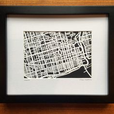 You asked for it, and I'm excited to announce that my Toronto, ON map is now available in a smaller size! My new is perfect for a desk or bookshelf in a home office, dorm room or business - and it would make a really unique holiday gift. Dorm Room, Bookshelves, Holiday Gifts, Toronto, Maps, My Etsy Shop, Desk, Business, Unique