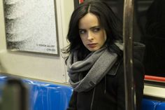 Marvel's Jessica Jones - Netflix  Jessica Jones introduces us to a much creepier and sexier corner of the Marvel comic universe. It can be intense at times, but David Tenant makes a terrifying villain and Krysten Ritter has found the reluctant superhero role she was born to play. Photo: MYLES ARONOWITZ