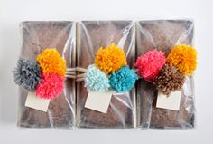 a pretty cool life. // pretty pom pom loaves of pumpkin bread #TimetoBelieve #CleverGirls