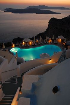 Volcano View Hotel, Santorini, Greece