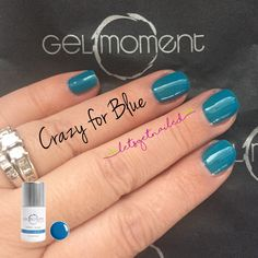 GelMoment Crazy for Blue DIY gel manicure Blue Gel, Get Nails, Jamberry Nails, Gel Manicure, Facebook Sign Up, Pretty Nails, Nail Ideas, Nail Art Designs, Nail Polish