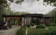 Dream Home Design, Modern House Design, Contemporary Design, Modern Exterior, Exterior Design, Modern Architecture House, Architecture Design, House Outside Design, Forest House