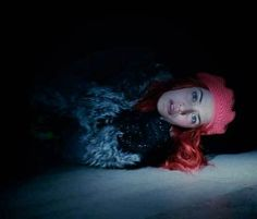 eternal sunshine of the spotless mind Clementine-memory on its way to oblivion.