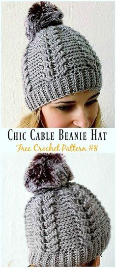 8f970e69433 459 Best free crochet hat patterns images
