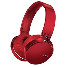 Special Offers - Sony MDR-XB950BT/R Extra Bass Bluetooth Wireless Headphones w/Microphone  Red (Certified Refurbished) - In stock & Free Shipping. You can save more money! Check It (June 03 2016 at 08:01PM) >> http://ift.tt/1t6885e