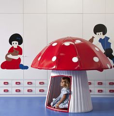 Doesn't everyone need a mushroom to read inside?