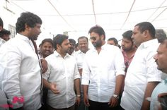 Nara Rohit at Swachch Bharat Campaign