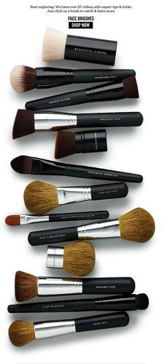bareMinerals Makeup Application Brushes