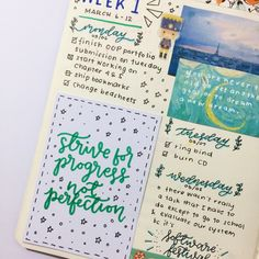 """moondustts: """"03.09.17 // currently working on the second half of my first weekly spread!  (also i did a lot of errands on wednesday but i forgot to put it in) """""""