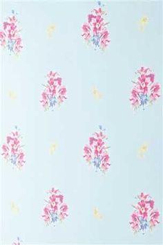 Teal Bouquet Wallpaper