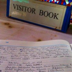 My name (Victor Matheus Ventura Filgueiras) in the visitor book at the Big Buddha in Phuket, Thailand.