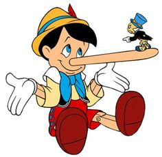 Liars...just wish all past coworkers that lied had noses that grew!!