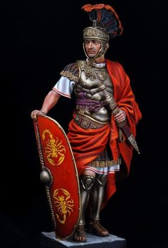 m Fighter Royal Army Plate Armor Helm Shield Cloak Sword underdark Rome Antique, Art Antique, Ancient Rome, Ancient History, Roman Armor, Roman Centurion, Art Roman, Roman Warriors, Roman Legion