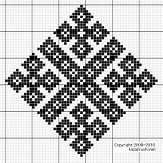 Kasuti Embroidery, Cross Stitch Embroidery, Embroidery Patterns, Cross Stitch Patterns, Crochet Cross, Crochet Art, Tapestry Crochet, Cross Stitch Geometric, Fillet Crochet