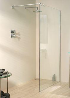 Lakes Italia Vizzini Walk-In Shower Enclosure 1000 x 800 (Silver) Lake Bathroom, Bathroom Ideas, Bathrooms, Corner Shower Enclosures, Bathtub, Minimalist, Contemporary, Luxury, House