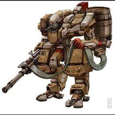 Minegun soldado