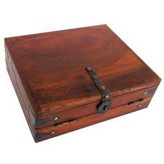 Antique Style Wood Folding Travel Writing Lap Desk, 2015 Amazon Top Rated Lap Desks #OfficeProduct
