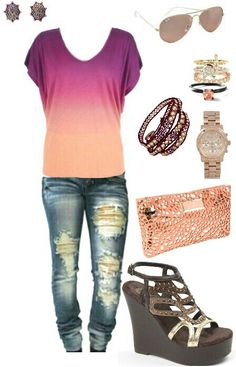Women's casual fashion outfit
