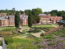 Wotton House is a former country house in Wotton near Dorking, Surrey, England. Originally the centre of the Wotton Estate and the seat of the Evelyn family, it was the birthplace in 1620 of diarist and landscape gardener John Evelyn, who built the first Italian Garden in England there.