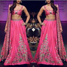 Silk couture via Instagram Wedding Prep, Wedding Bells, Wedding Ideas, Indian Attire, Indian Ethnic Wear, Bollywood Style, Bollywood Fashion, Stunning Dresses, Nice Dresses