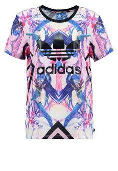 Adidas Originals Florera Camiseta Print Multicolor camisetas y blusas print Originals multicolor Florera camiseta ADIDAS Noe.Moda