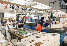 Tsukiji Fish Market - been there