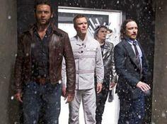 Wolverine, Magneto, Quicksilver y Xavier en X-Men.