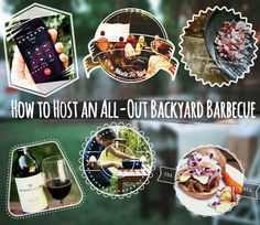 How to Host an All-Out Backyard Barbecue // ManMadeDIY