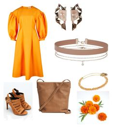 """""""Marigold"""" by mcounce on Polyvore featuring Rejina Pyo, Kendall + Kylie, BAGGU, Alex and Ani, Miss Selfridge and Nak Armstrong"""