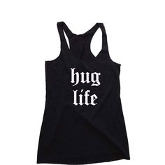 Womens Clothing- hug life Tank Top. Women's workout shirt. Activewear for Women. Workout Clothes. Novelty Tank Top. Gift for Her. Funny Tees, Christmas Gift, Hanukkah Gift, Hanukkah Shirt, Funny Tshirt, Funny Shirts, Hanukkah Outfit, Jewish Wedding, Jewish Gifts, Gift for Her, Womens Gift, Workout Shirt, Workout Outfit  by NudeDolly