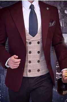 You will become such a outstanding man with latest coat pant designs black velvet groom tuxedos red men wedding suits groomsmen blazer smoking jacket sli Wedding Dress Men, Wedding Men, Wedding Suits, Wedding Tuxedos, Wedding Suit Rental, Blazer Outfits Men, Blazer Fashion, Casual Outfits, Groom Tuxedo