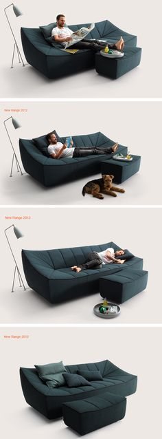 A highly practical sofa ... specially designed for me... ;-)
