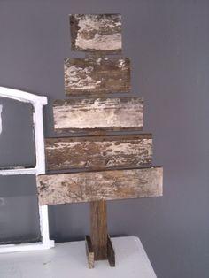 Mijn eigen sloophouten kerstboompje