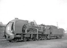 Pacific Paris-Lyon-Méditerranée in service 1937 Old Trains, Vintage Trains, Tramway, Diesel, France, Steam Engine, Steam Locomotive, Belgium, Transportation