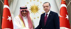 ERDOGAN AND THE KING OF SAUDI ARABIA