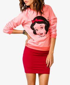 Snow White Grapic Pullover