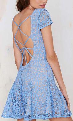 The Jetset Diaries Sambra Lace Dress