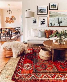 Home Interior Design - Vintage Teppiche - cool ideas - home design - Boho Living Room, Living Room Interior, Home Interior Design, Home And Living, Living Spaces, Interior Decorating, Interior Rugs, Living Room Vintage, Bohemian Interior Design
