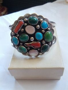 Vintage Old Pawn Sterling Silver Multi by VansVintageTreasures, $570.00