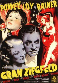 El gran Ziegfeld (1936) EEUU. Dir: Robert Z. Leonard. Biográfico. Musical. Cine dentro do cine - DVD CINE 782