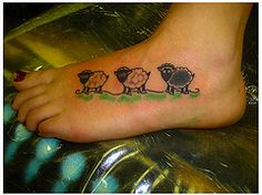 sheep tattoos - Google Search