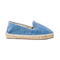MANEBI La Havana Espadrille (1,620 MXN) ❤ liked on Polyvore featuring shoes, sandals, flats, rubber sole shoes, platform slip on shoes, platform flats, slip on shoes and slip-on shoes