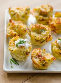 EASY Cheesy Mashed Potato Puffs Recipe. Looking for ideas and recipes to use up thanksgiving leftovers like your potatoes? THIS IS THE BEST WAY TO EAT LEFTOVER POTATOES EVER. Cheesy, crispy, fluffy clouds of heaven. Serve for breakfast, lunch or dinner. Also makes for excellent easy appetizers for the holidays -- christmas too -- if you need ideas to feed a crowd for a party.