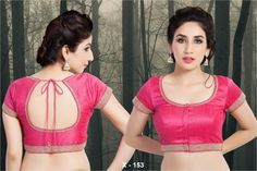 Back Less and Back Neck Saree Blouse 5
