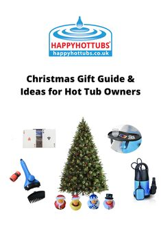 Our handy guide on what to buy friends or family that love their hot tub this Christmas. Varied handy tools to help with maintenance and fun items like waterproof playing cards! Christmas Gift Guide, Christmas Ideas, Christmas Gifts, Happy Hot, Ways To Relax, Cool Tools, Spas, Hot Springs, Tub