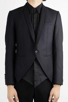 Shawl lapel blazer